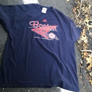 VINTAGE 2005 ADIDAS BOSTON RED SOX TEE SHIRT